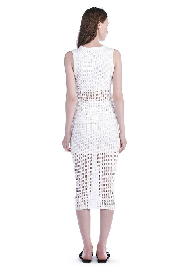 stretch jacquard midi skirt skirt wang