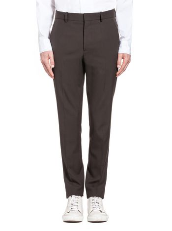 Marni Pants in tropical wool with pressed crease  Man