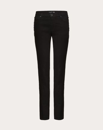 VALENTINO Rockstud Untitled Noir Denim 36898723OE