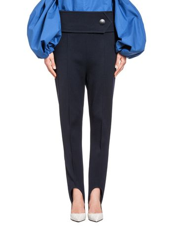 Marni Runway pants in wool covert Woman