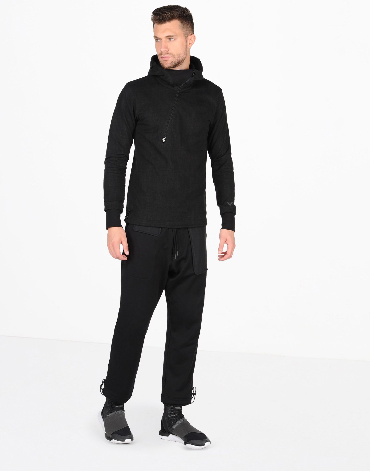 Y-3 FRENCH TERRY MIX PANT TROUSERS man Y-3 adidas