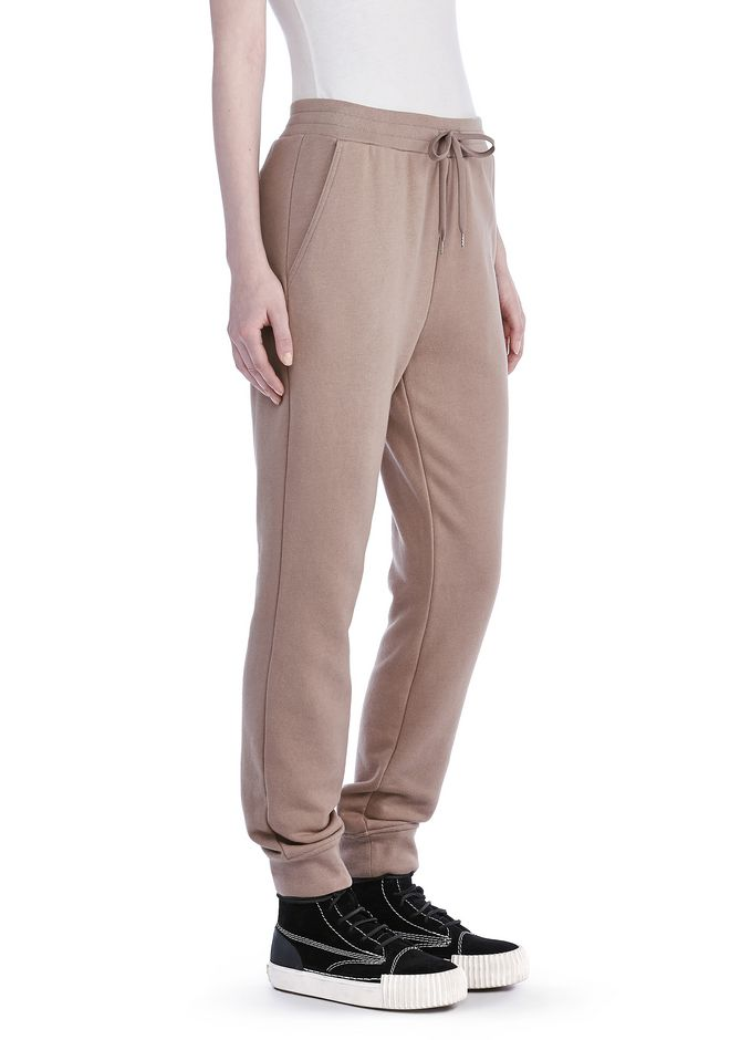 T by ALEXANDER WANG PANTS Women SOFT FRENCH TERRY SWEATPANTS