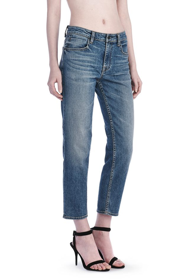 ALEXANDER WANG denim-x-aw RIDE JEAN