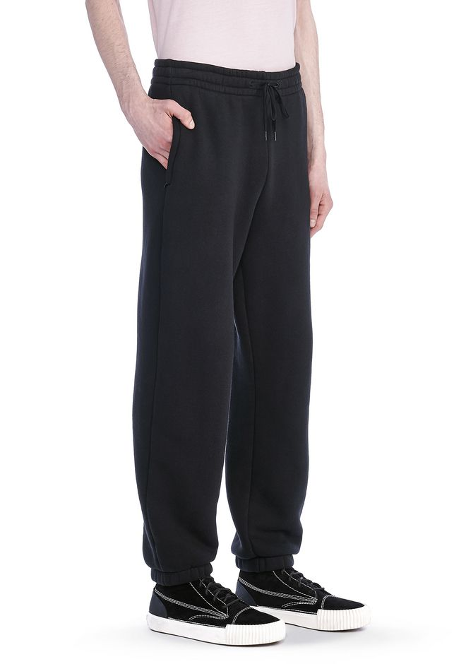 T by ALEXANDER WANG PANTS Men JERSEY FLEECE SWEATPANTS