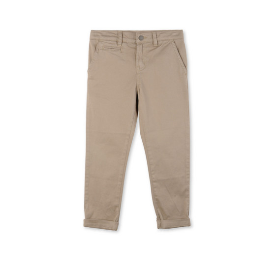 Beige Fitz Trousers