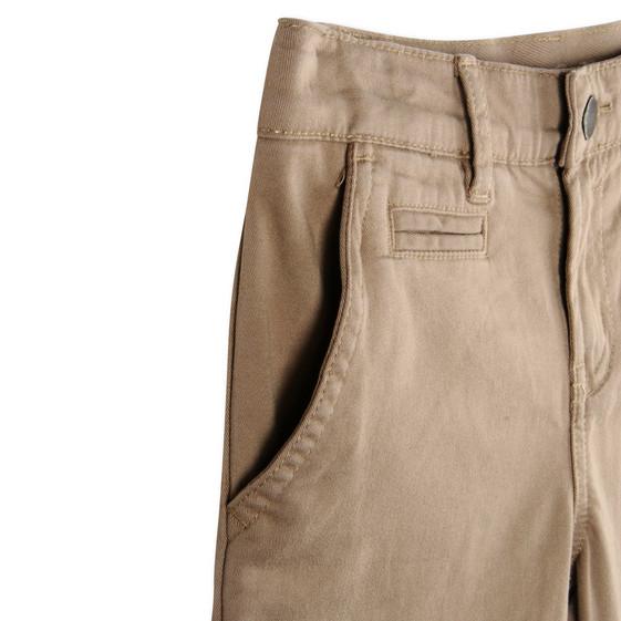 Beige Fitz Trousers