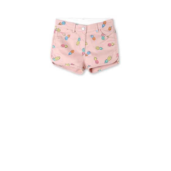 Pineapple Print Emma Shorts