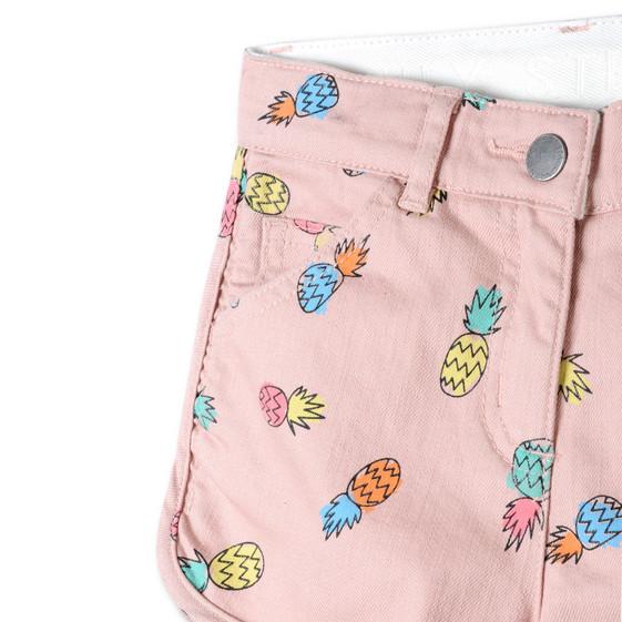 Pineapple Print Emma Shorts