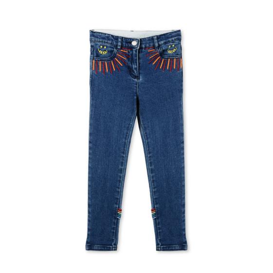 Nina Rainbow Print Jeans
