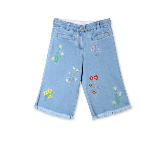 Floral Embroidered May Jeans