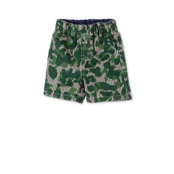 Khaki Camo Print Lucas Shorts