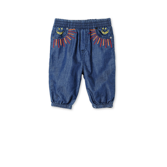 Rainbow Embroidered Pipkin Trousers