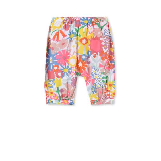 Floral Collage Print Drew Pants