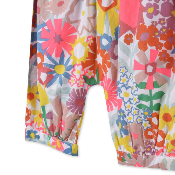 Floral Collage Print Drew Trousers