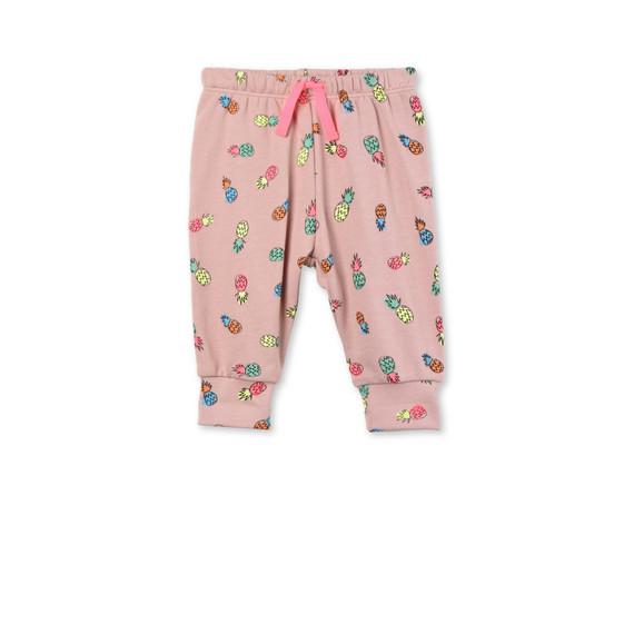 Pantaloni Tootie con Stampa Ananas