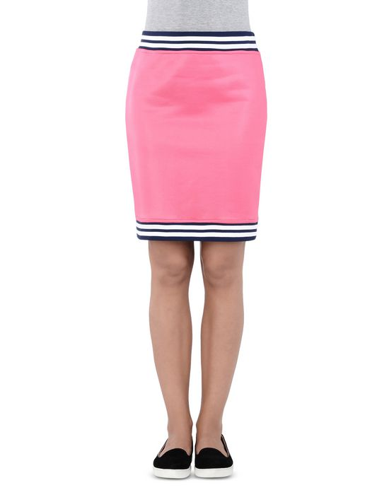 Knee length skirt Woman LOVE MOSCHINO
