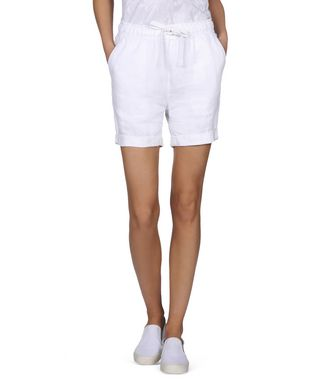 NAPAPIJRI NERRY WOMAN BERMUDA SHORTS,BRIGHT WHITE