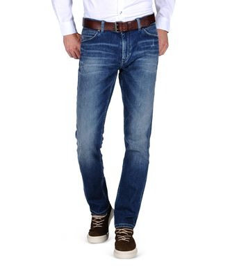NAPAPIJRI LUND MAP MAN JEANS,BLUE