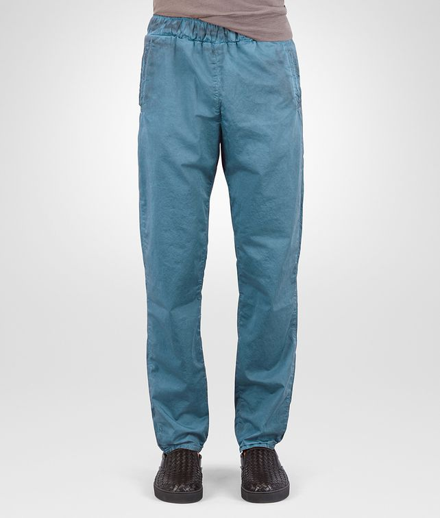 BOTTEGA VENETA PANTALONE IN POPELINE DI COTONE BRIGHTON Pantaloni e Jeans Uomo fp