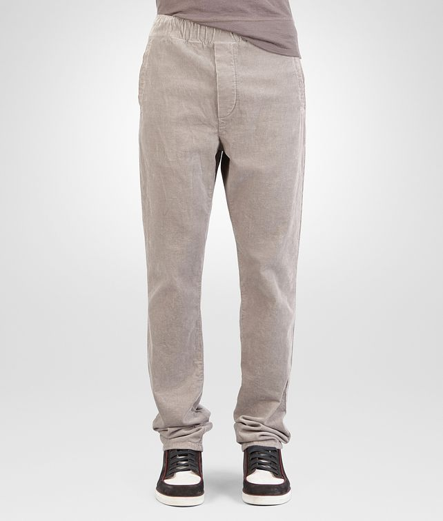 BOTTEGA VENETA PANT IN FUME' CORDUROY Trouser or jeans Man fp