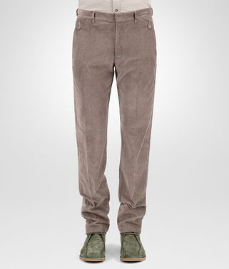 PANT IN STEEL CORDUROY