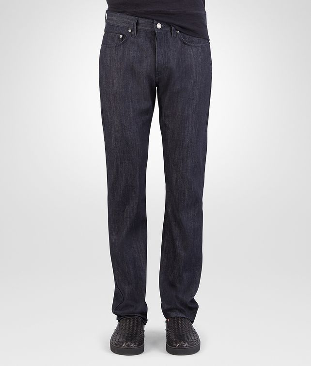 BOTTEGA VENETA PANTALONE IN DENIM DARK NAVY Pantaloni e Jeans U fp