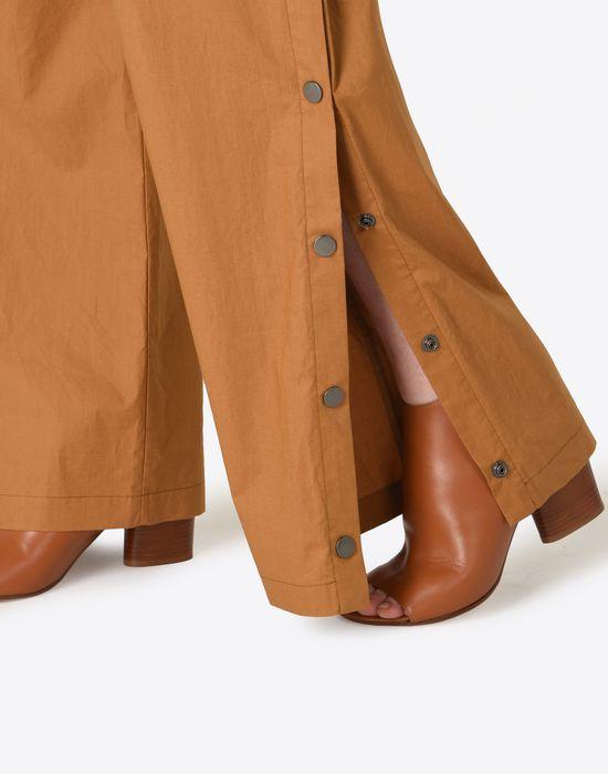 MAISON MARGIELA 1 Poplin trousers with elastic band Casual pants Woman a