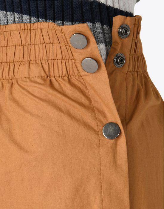 MAISON MARGIELA 1 Poplin trousers with elastic band Casual pants Woman b