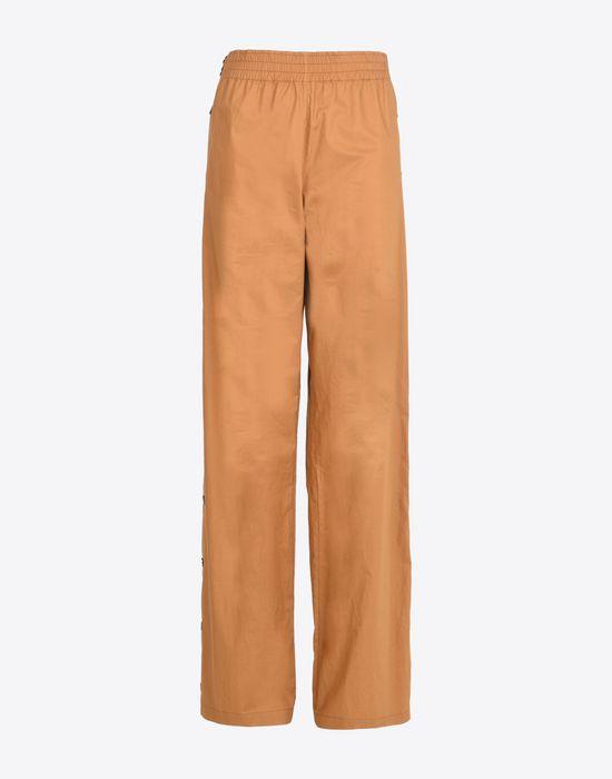 MAISON MARGIELA 1 Poplin trousers with elastic band Casual pants Woman f