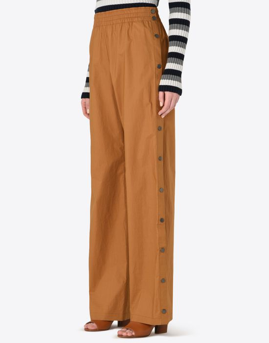 MAISON MARGIELA 1 Poplin trousers with elastic band Casual pants Woman r