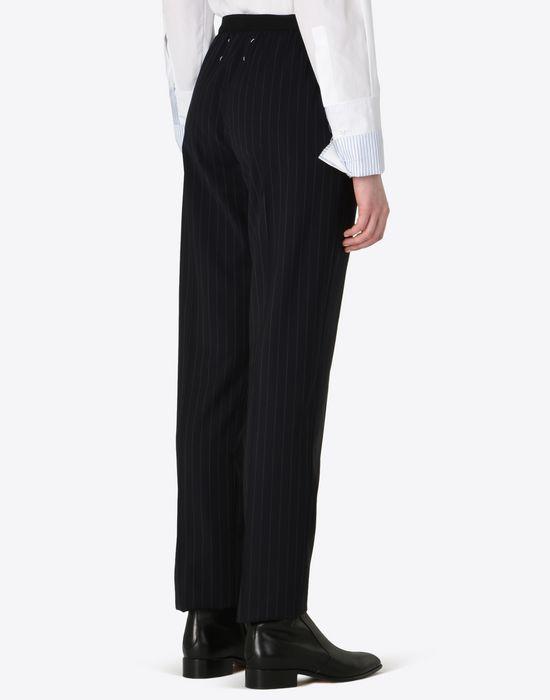 MAISON MARGIELA Pin striped virgin wool trousers Casual pants D e