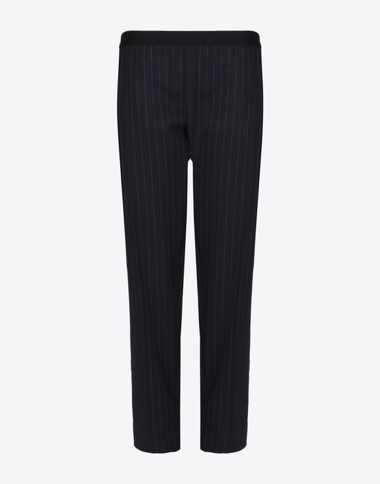 MAISON MARGIELA Pin striped virgin wool trousers Casual pants D f