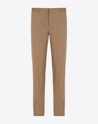 MAISON MARGIELA 14 Casual pants U Super light gabardine slim fit trousers f