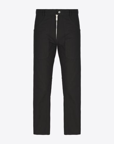 MAISON MARGIELA 10 Casual pants U Japanese canvas cropped trousers f