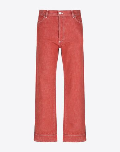 MAISON MARGIELA 10 Jeans U Red vintage denim trousers f