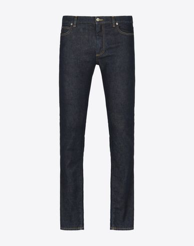 MAISON MARGIELA Jeans U Skinny fit raw blue jeans f