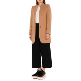 Slashes Cropped Trousers