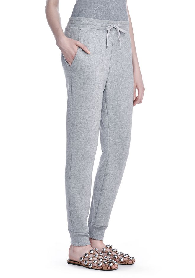 T by ALEXANDER WANG PANTS SOFT FRENCH TERRY SWEATPANTS