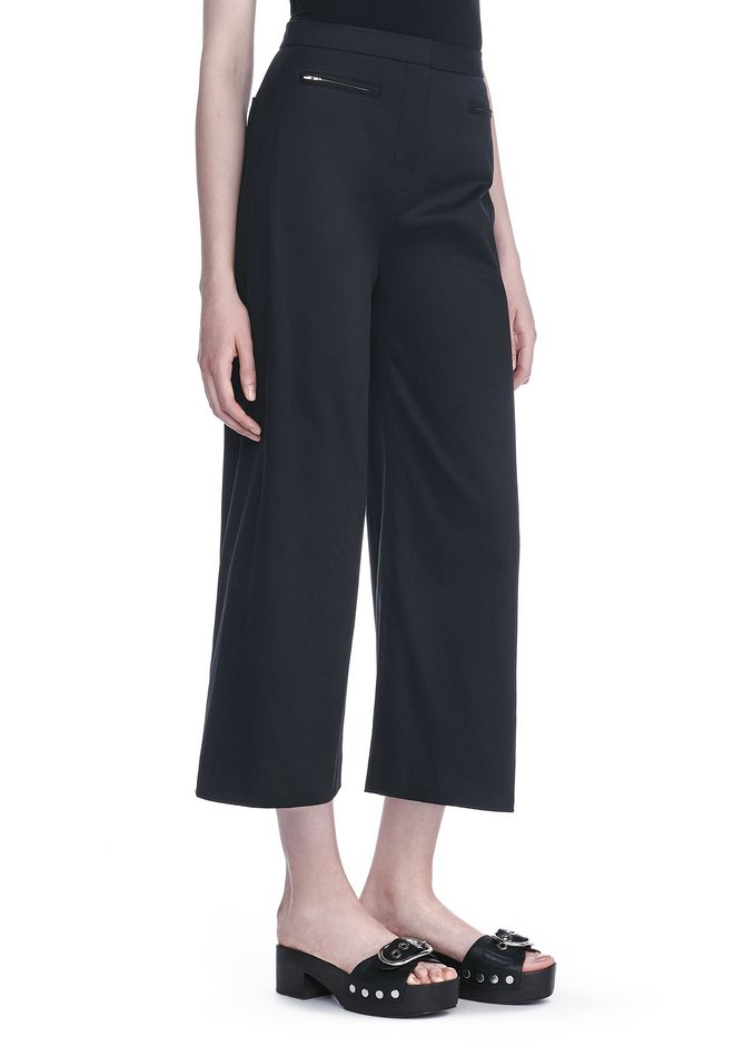T by ALEXANDER WANG PANTS HIGH WAISTED CULOTTES
