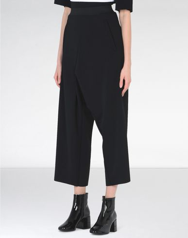 MM6 by MAISON MARGIELA Casual pants D Cropped loose-fit trousers f