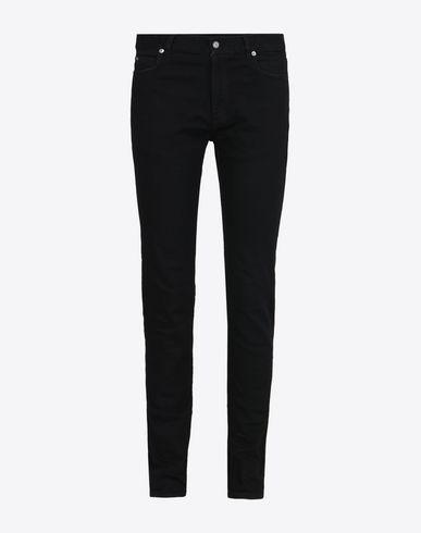 MAISON MARGIELA Jeans U Raw black skinny fit jeans f