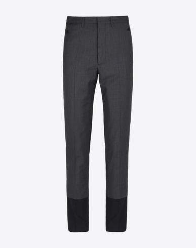 MAISON MARGIELA 10 Dress pants U Ripstop wool trousers f