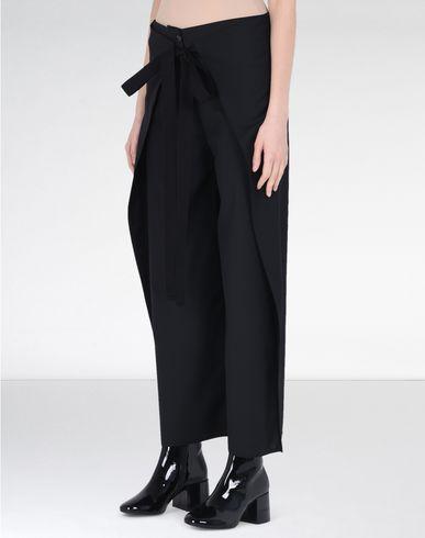 MM6 by MAISON MARGIELA Pantalon D Pantalon en laine avec jambes extra-larges f
