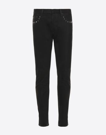 VALENTINO ROCKSTUD UNTITLED DENIM CHINOS 36951203FR
