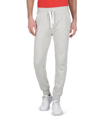 NAPAPIJRI MORGAN MAN SWEATPANTS,LIGHT GREY