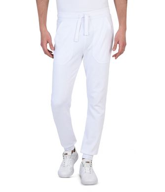 NAPAPIJRI MORGAN MAN SWEATPANTS,WHITE