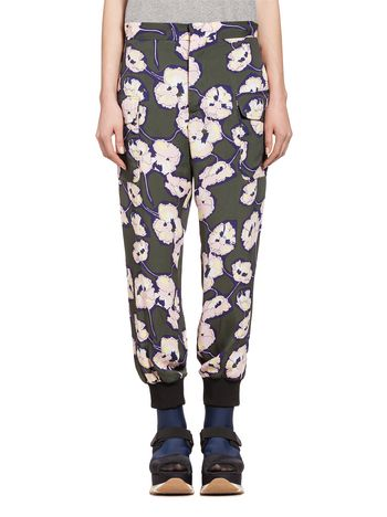 Marni Pants in viscose sablè Whisper  Woman
