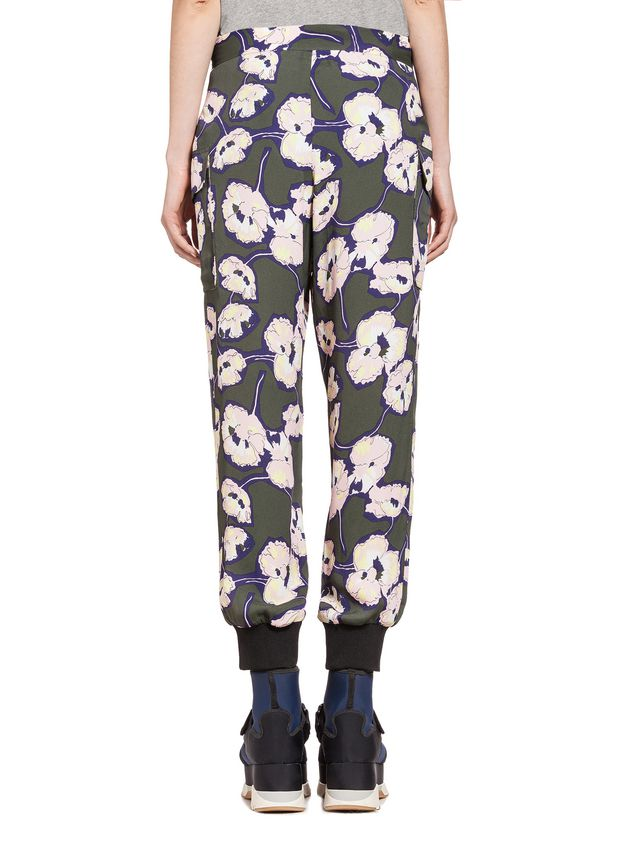 Marni Pants in viscose sablè Whisper  ДЛЯ ЖЕНЩИН