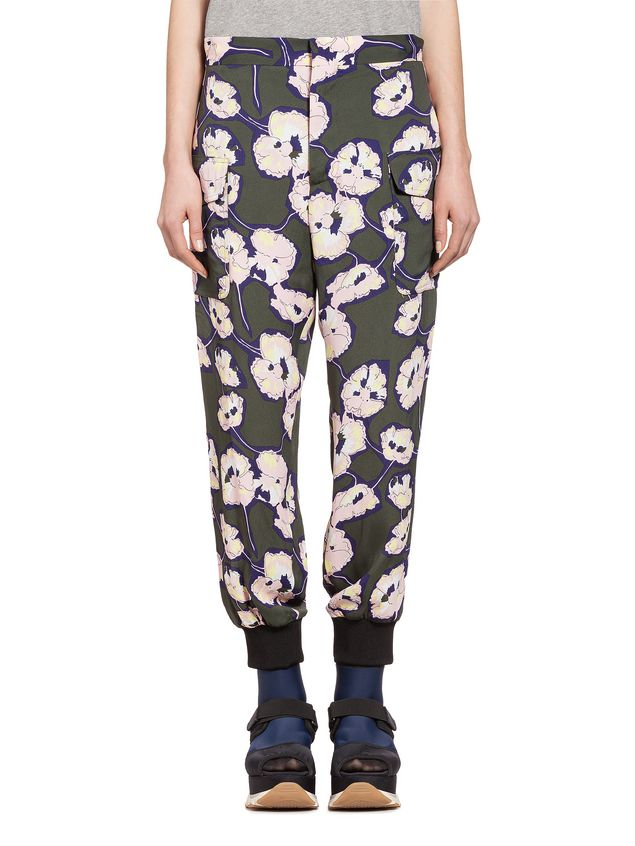 Marni Pants in viscose sablè Whisper  ДЛЯ ЖЕНЩИН - 1