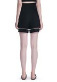 ALEXANDER WANG HIGH WAISTED SHORTS WITH FISHLINE TRIM SHORTS Adult 8_n_a